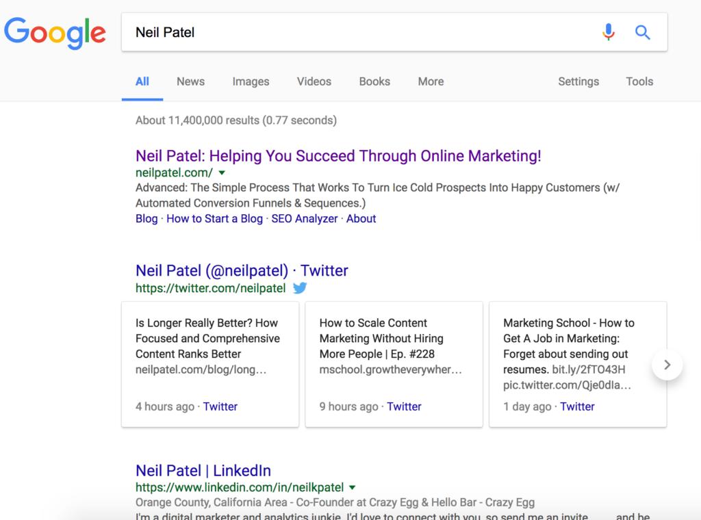 neil patel brand brand results