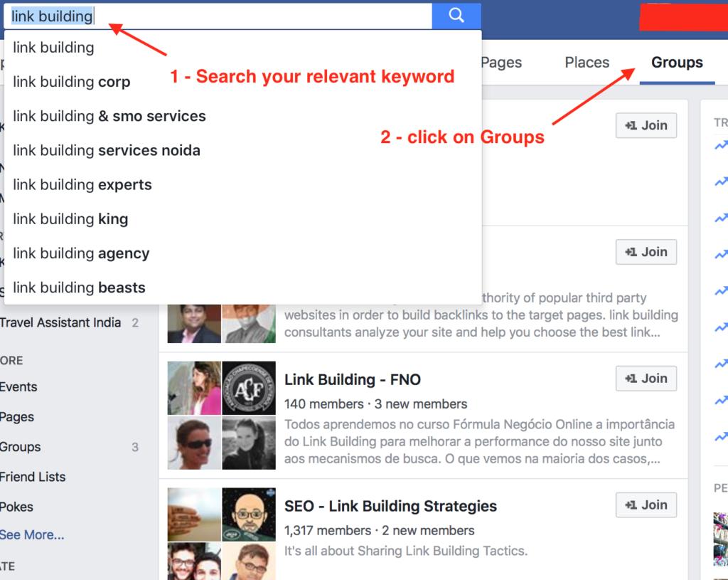 Leverage Facebook Groups