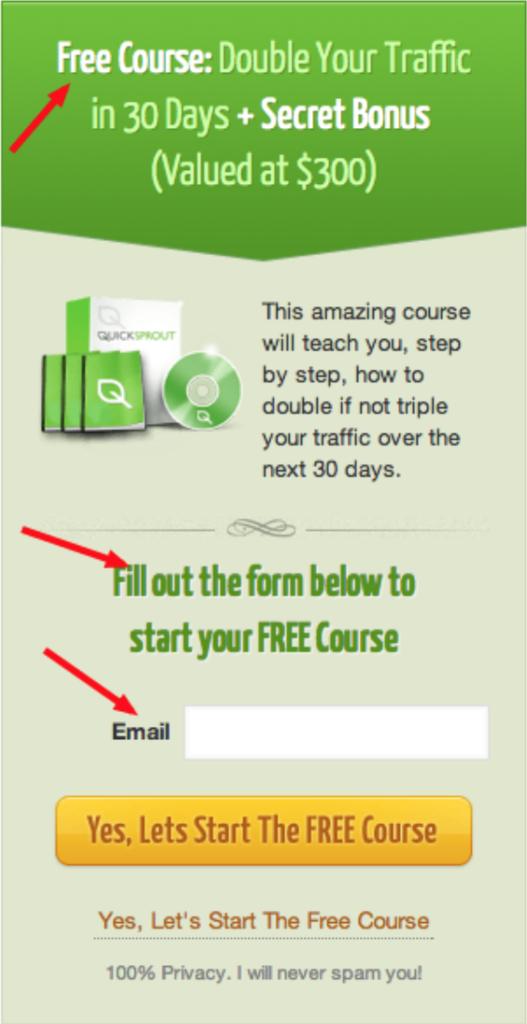 neil patel freebie course