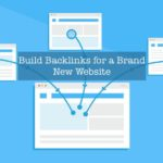 build backlinks for a new site